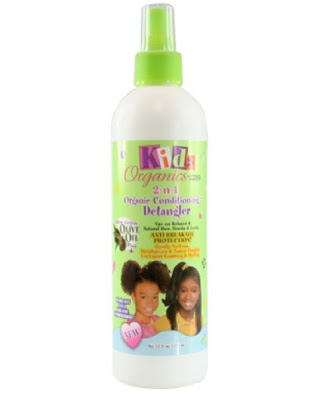 Kids Organics 2 n 1 Organic Conditioning Detangler 12 oz Sidi beauty