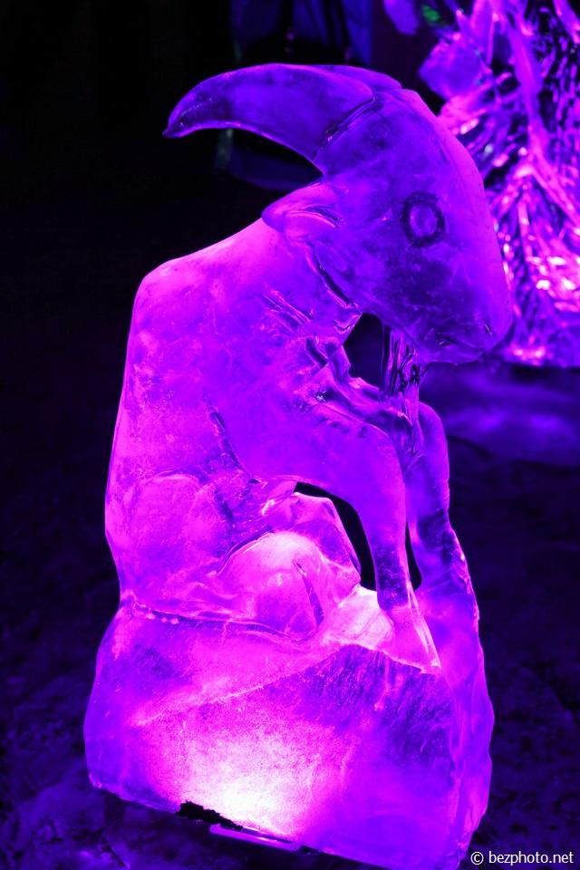 выставка ледяных фигур 2016