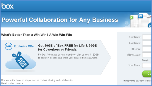 Get Box 50 GB Free Cloud Space for Lifetime