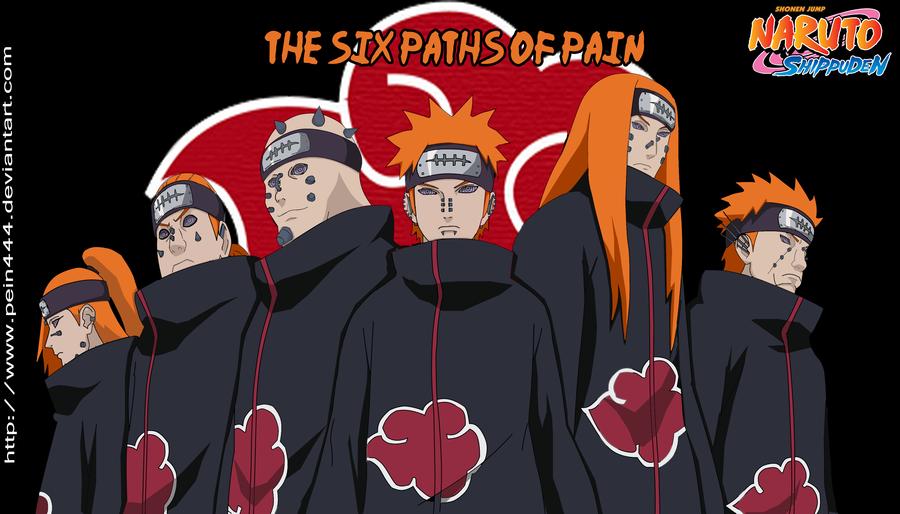 Naruto Shippuden: Os Seis Pains