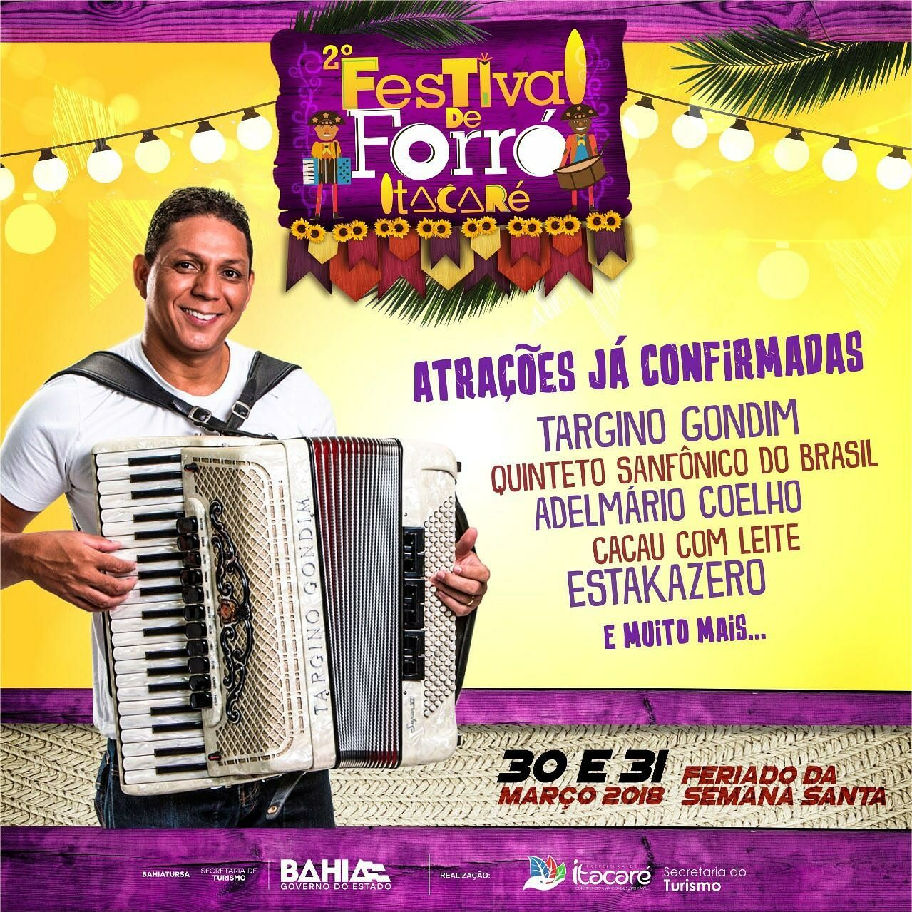Festival de Forró em Itacaré!