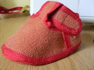 bokapántos cipőcske szabásminta