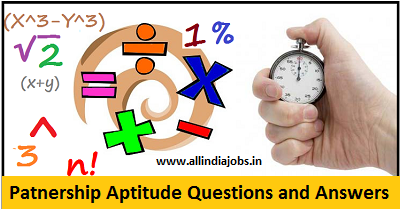 Partnership Aptitude Questions and Answers