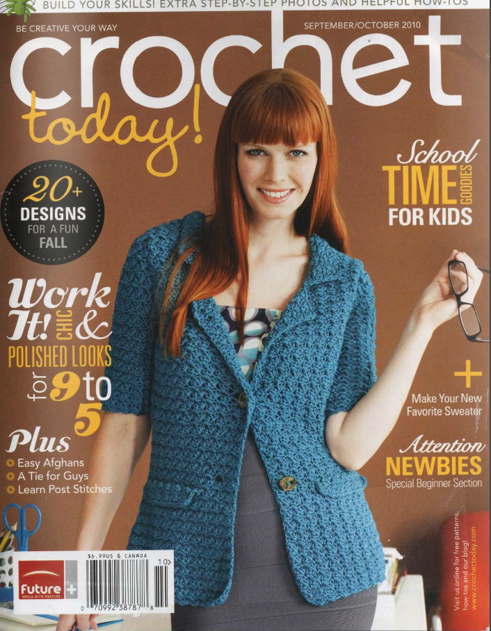 Crochetpedia: Crochet Books Online - Crochet Today Magazine 10-2010 ...