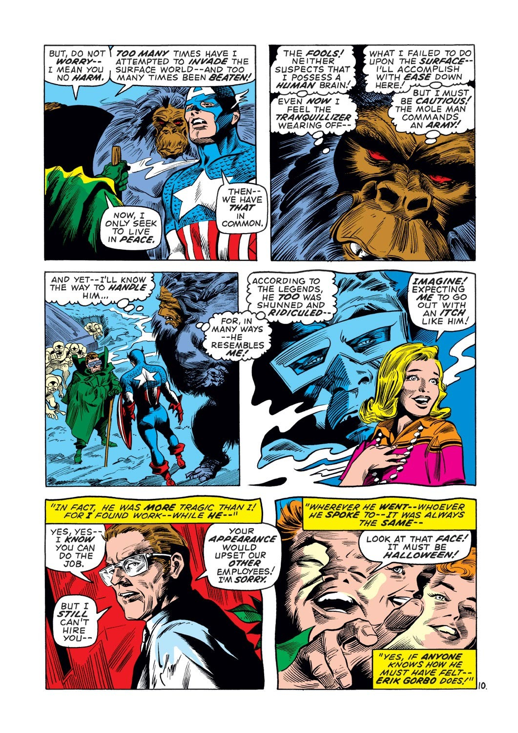 Captain America (1968) Issue #136 #50 - English 11