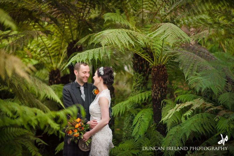 Oran Mor   Glasgow Botanic Gardens Wedding Photography