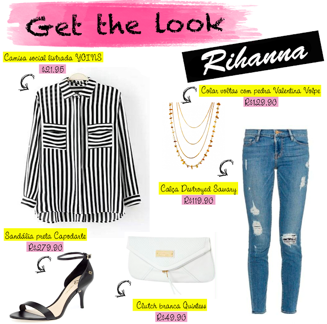 Estilo, look, get the look,  famosas, Rihanna