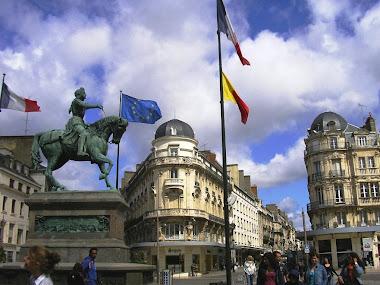 Orleans - Place du Martroi