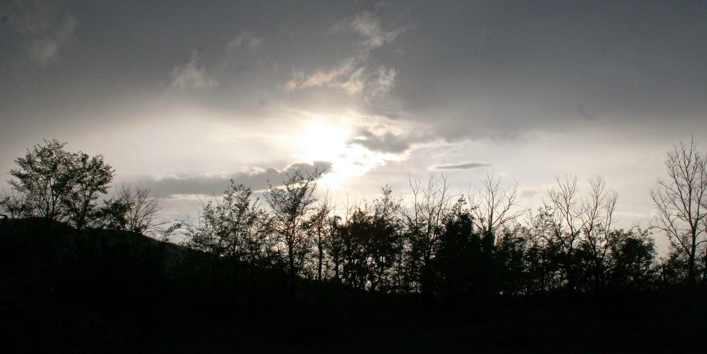 Finally the sun broke through