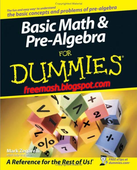 Basic Math & Pre-Algebra PDF Ebook Free Download
