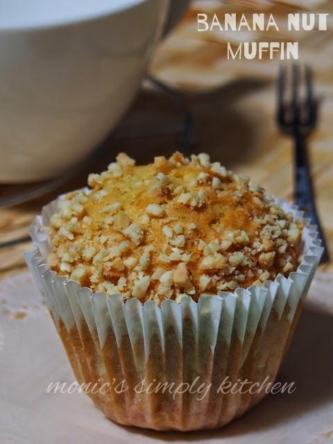 resep muffin pisang kacang
