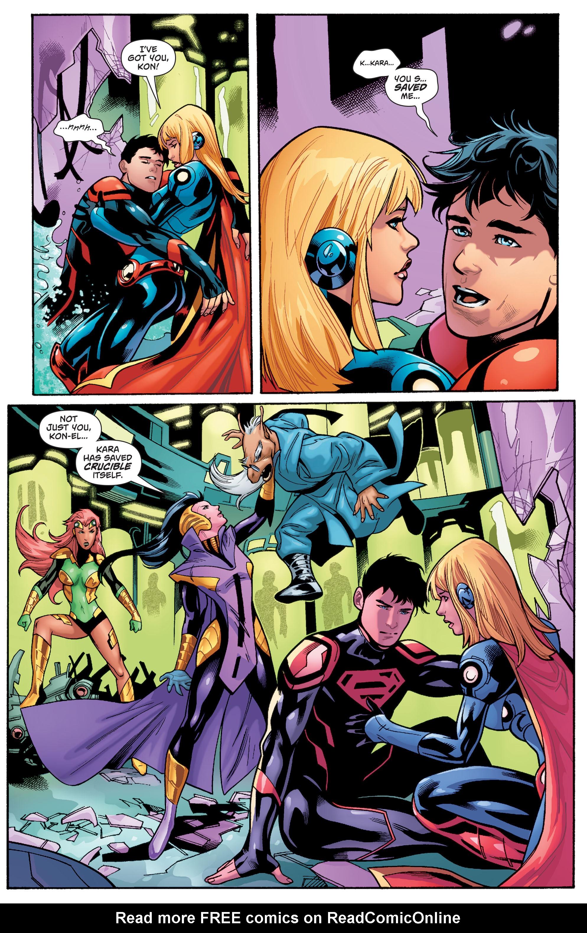 Supergirl (2011) Issue #40 #42 - English 8