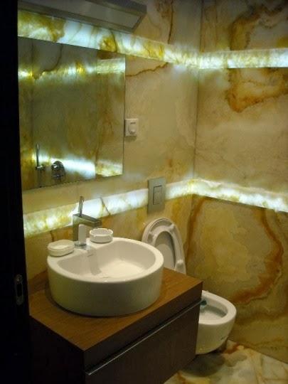 Баня оникс със светещ фриз 7