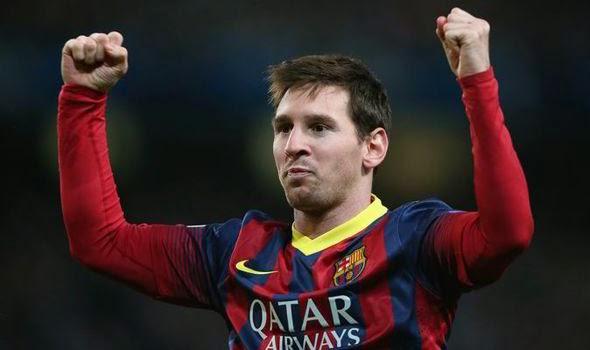 Lionel Messi win
