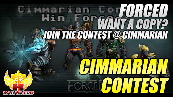 Cimmarian Contest, Win a Copy Of FORCED, Co-op Action Roleplaying Puzzle Tactical Game