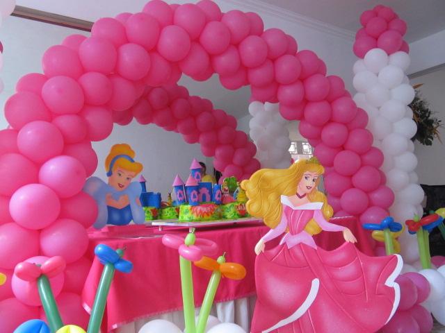 Fiesta tematica princesa disney aurora la bella durmiente - Decoracion fiesta princesas disney ...