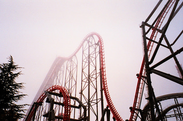 Fuji-Q Highland Amusement park Japan