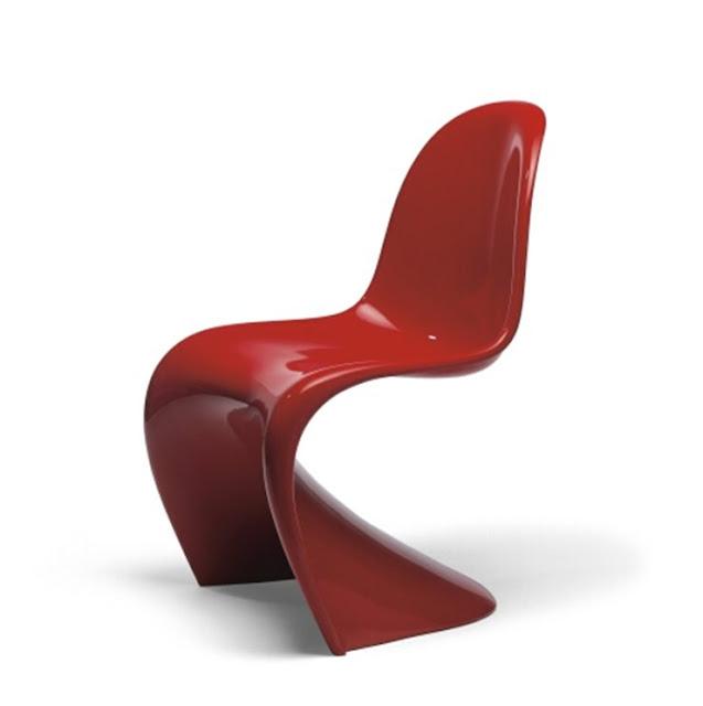 modern chairs verner panton classic verner panton chair. Black Bedroom Furniture Sets. Home Design Ideas