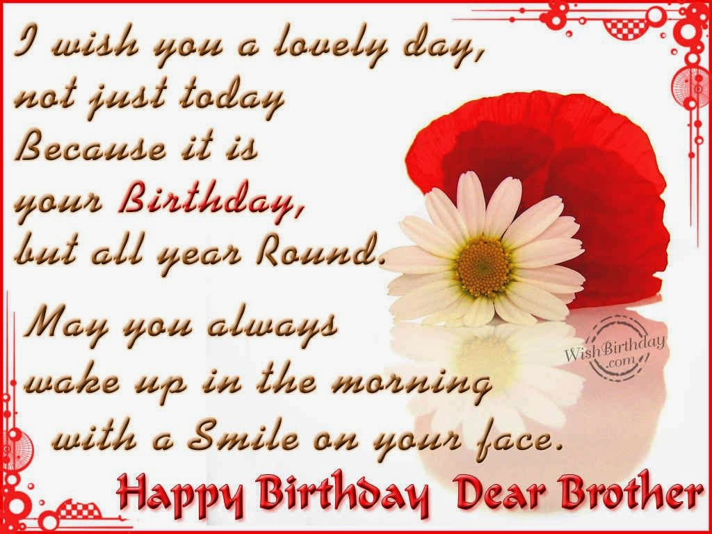 Birth Day Quotes &... Happy Birthday Quotes For Younger Brother