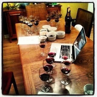 wine tasting - 50 States of wine