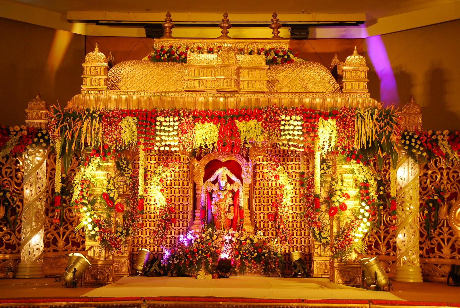 indian wedding sets  u0026 stage designs