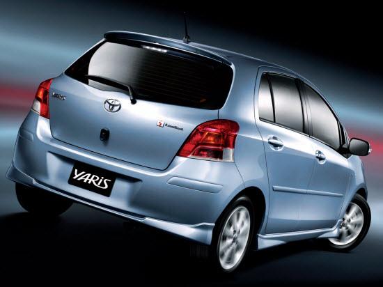 Cho thuê xe Toyota Yaris E 1.5 AT 2012