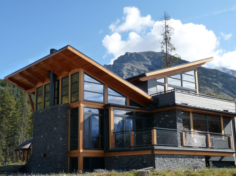 10 modern mountain home plans ideas house plans 71505 for Modern mountain house