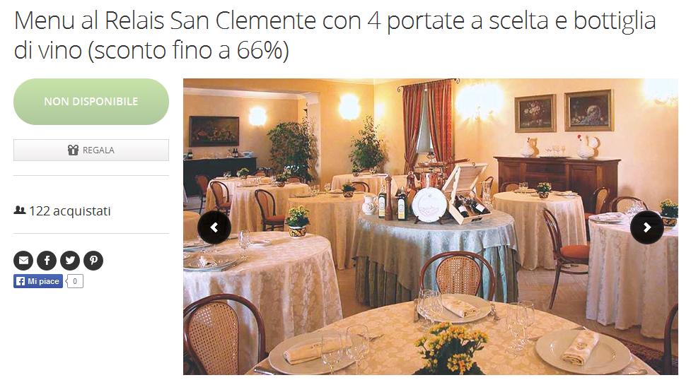 http://www.groupon.it/deals/perugia/ristorante-relais-san-clemente/41550181?utm_source=ogniricciounpasticcio&utm_medium=blogger&utm_campaign=promocode