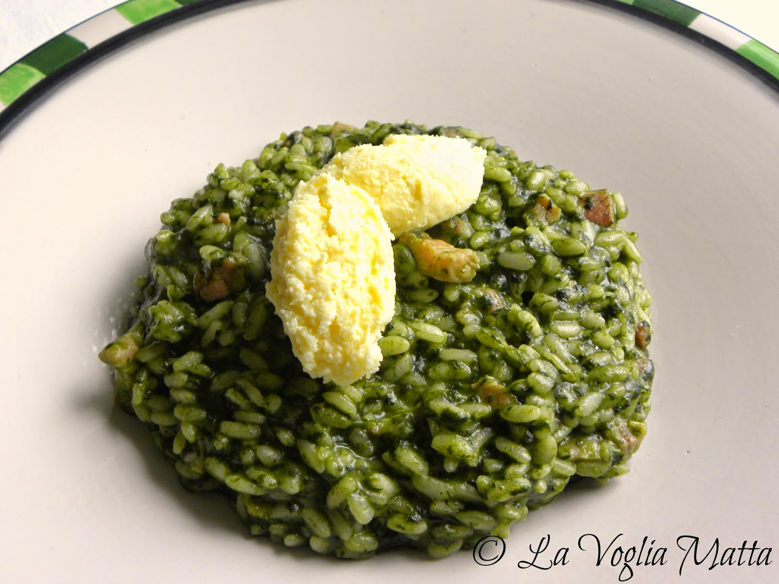 Pancetta pea asparagus farro risotto - Cook and Post