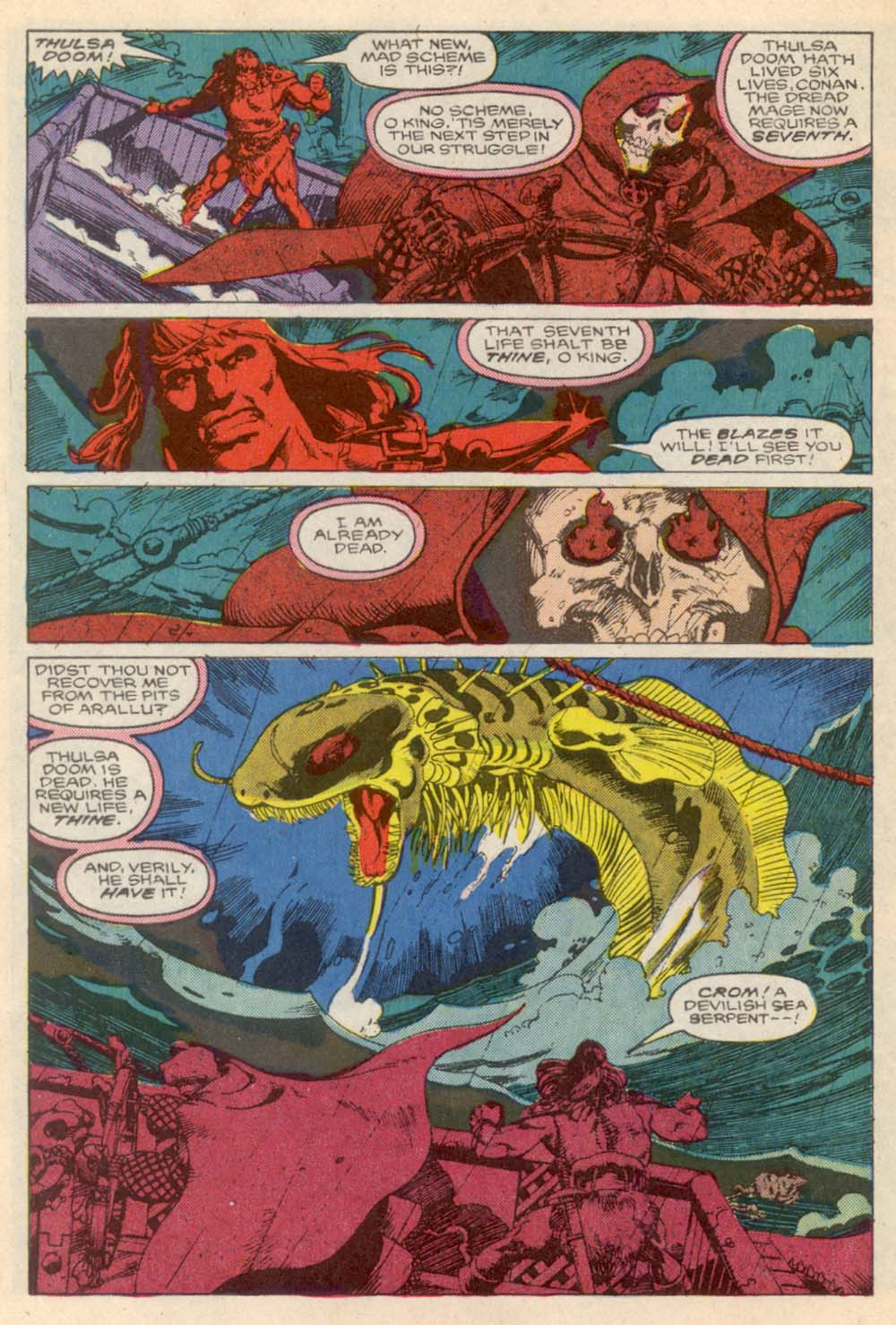 Conan the Barbarian (1970) Issue #203 #215 - English 6
