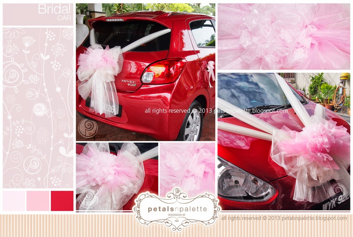 Bridal Car - Wedding Decoration Malaysia - Floral Design & Event Styling