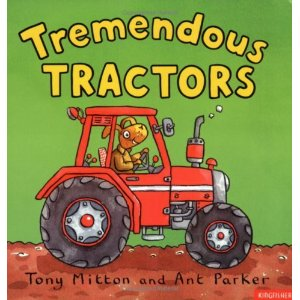 Tremendous Tractors, children's books