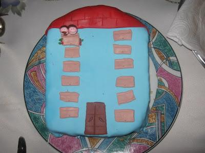 bolo a casinha dos avós