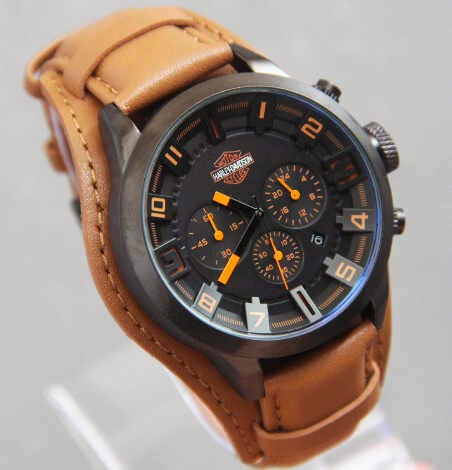 Harley Davidson Combo 6388 Brown orange