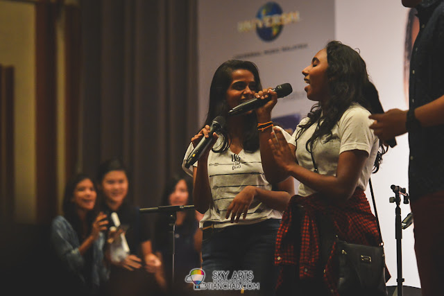 "This group is the awesome ""childs"" of  UsTheDuo. Good singing =)"