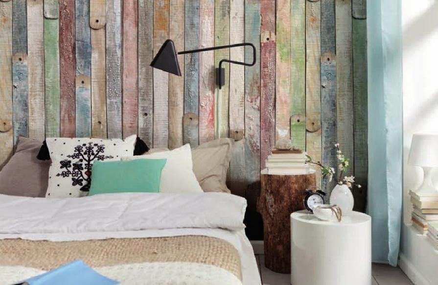 Arantxa amor decoraci n ideas para cabeceros cabeceros for Friso madera pared