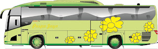 desain bus puspa jaya new