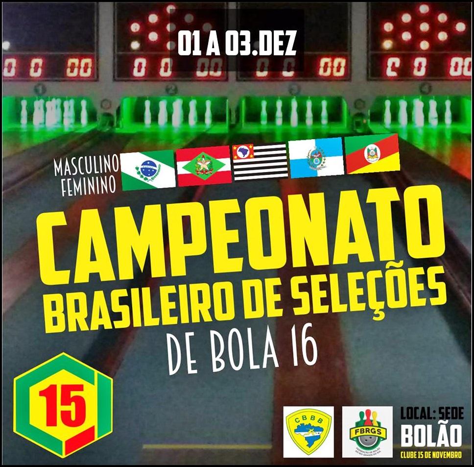 BRASILEIRO DE SELEÇÕES