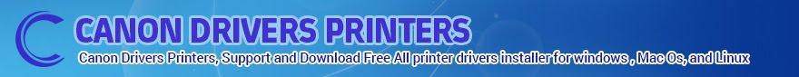 Canon Drivers Printers