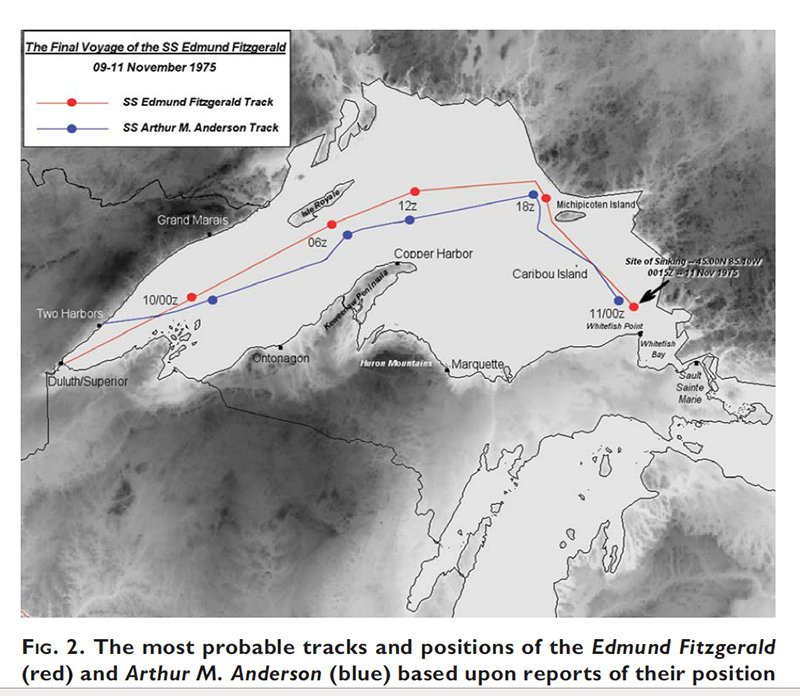 November 10th Marks 40 Years Since the SS Edmund Fitzgerald Sank ...