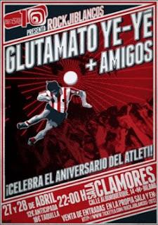 Noticias nuevaola80 dos conciertos seguidos de glutamato for Sala clamores proximos eventos