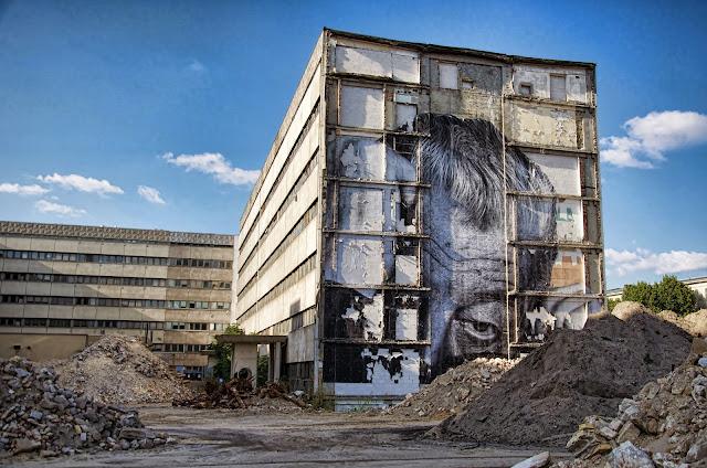 """Baustelle Ordnungsmassnahme, Teilrückbau eines Verwaltungsgebäudes ehemaliges """"DDR-Bauministerium"""", Scharrenstraße / Breite Straße, 10178 Berlin, 01.10.2013"""