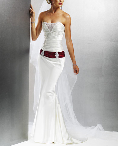 Wedding Dress Patterns on White Graceful Bridal Wedding Dress Prom Gowns 4431  Jpg
