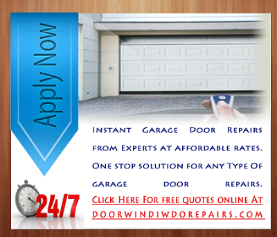 Apply Online For Garage Door Repairs