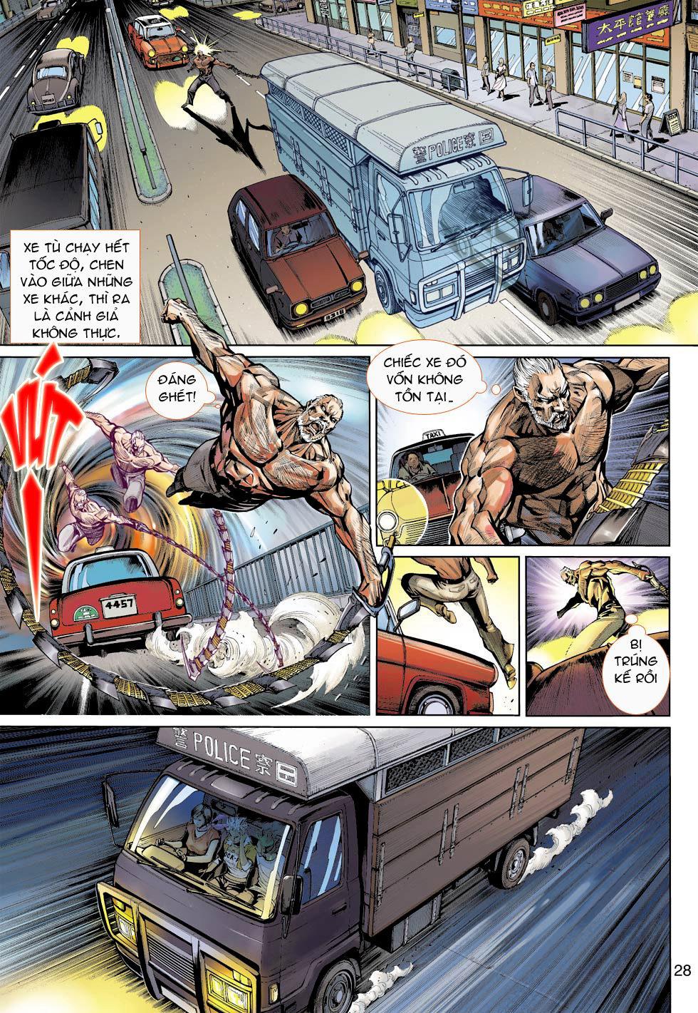 Thần Binh 4 chap 16 - Trang 28