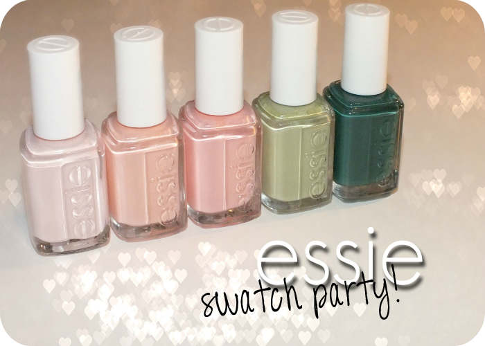 Essie Swatch Party- Fiji, A Crewed Interest, Van D' Go ... A Crewed Interest Essie