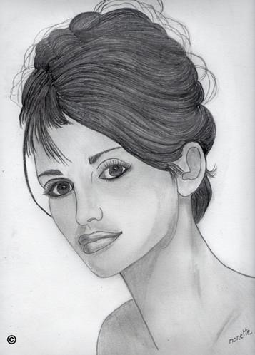 Retrato de Penélope Cruz