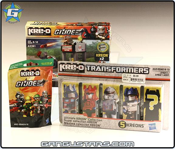 Hasbro G.I.Joe Kre-O Transformers Kreons www.gangustars.com