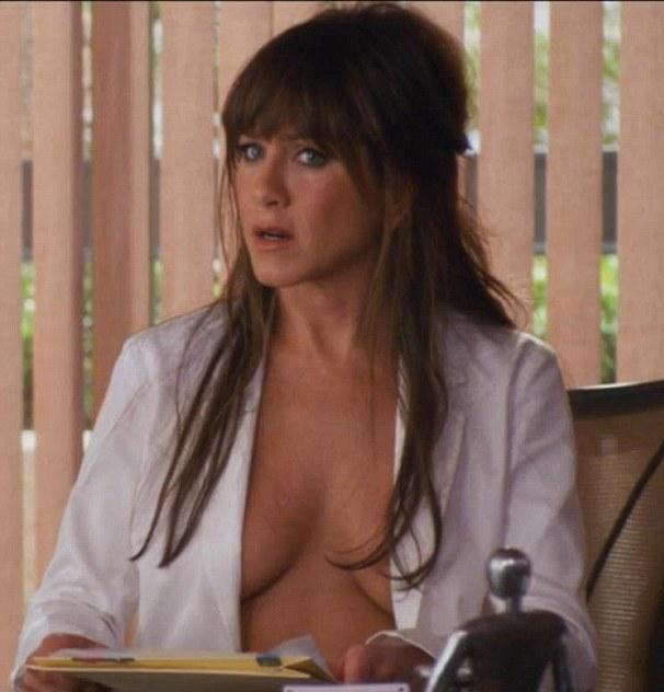 Jennifer aniston hand job