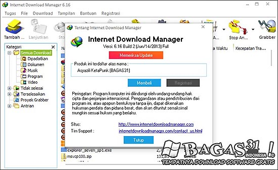 Internet Download Manager 6.16 Build 2 Final Full Patch 3